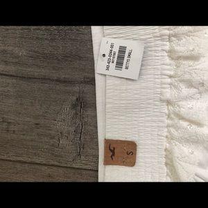 Hollister Skirts - Hollister white lace skirt